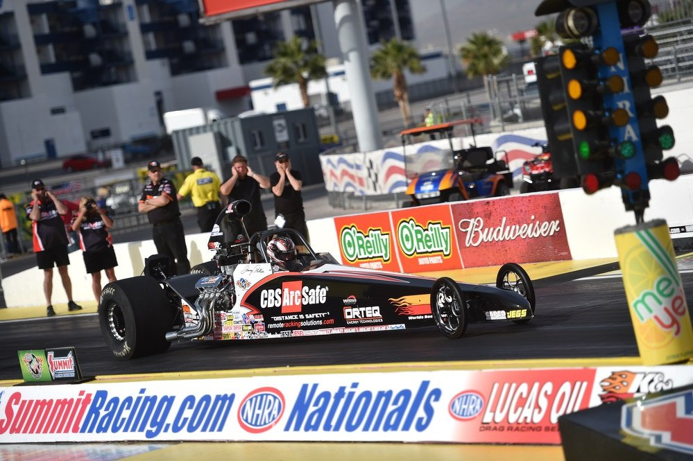Tommy Phillips - 2015 LVMS Summit Nationals Dragster