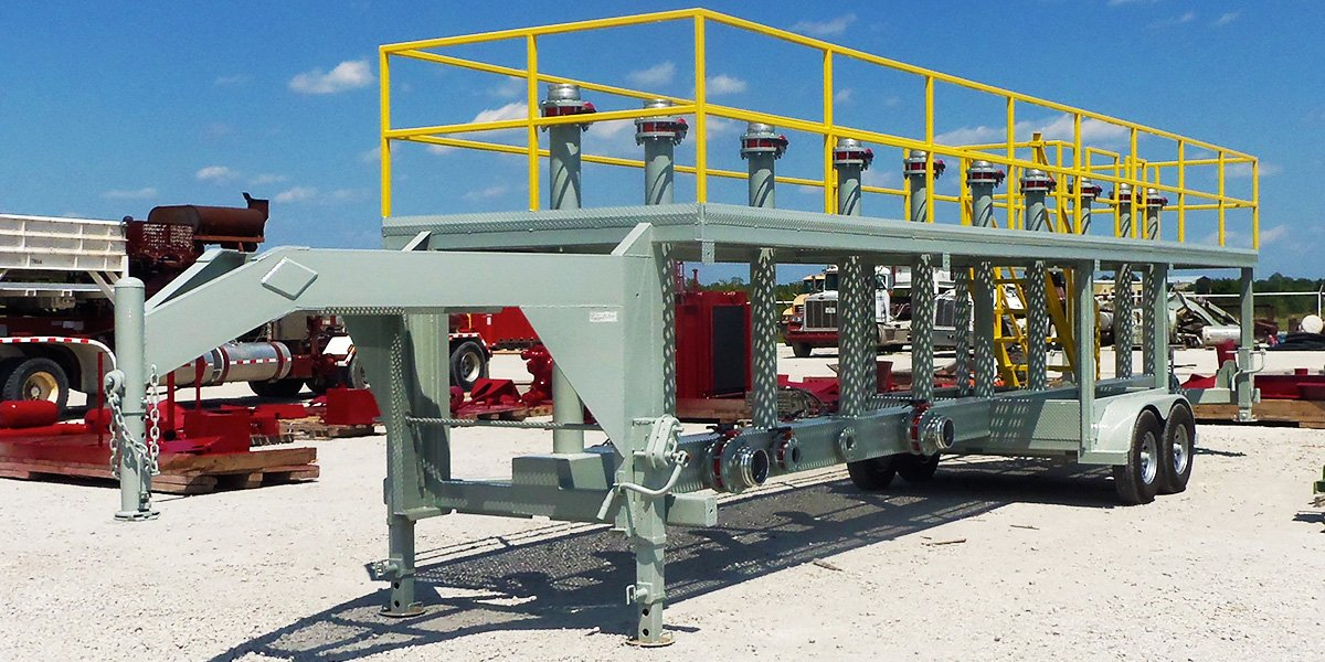 Missile Manifold Trailer - ORTEQ Energy Technologies