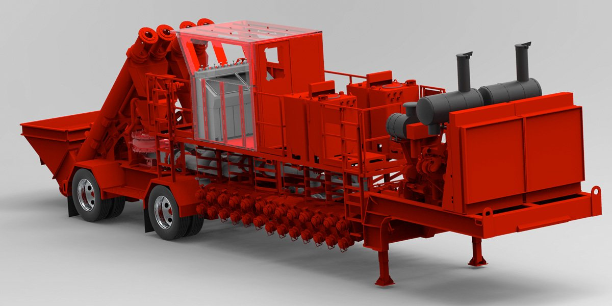 Water Transfer Oilfield Equipment ~ Custom manufactured fracturing equipment orteq energy