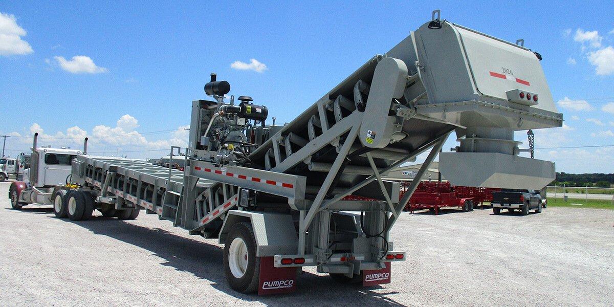sand transfer conveying unit